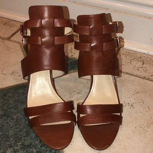 Vince Camuto Leather High-heeled Sandals